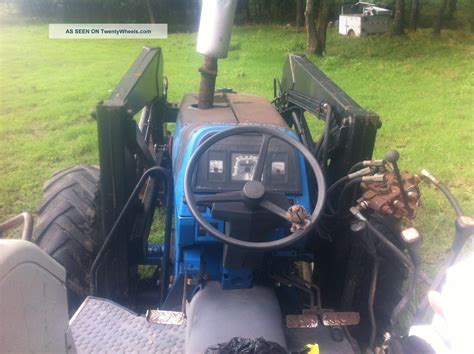 ford   hp  tractor  loader shuttle shift