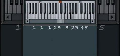 Row Your Boat On Keyboard by How To Play Quot Row Your Boat Quot On The Piano 171 Piano Keyboard