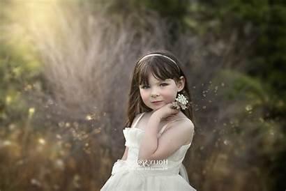Happy Children Bride Veil Beauty Gown Portrait
