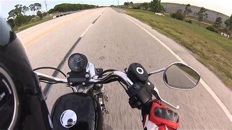 Harley Davidson Sportster 883 Top Speed!