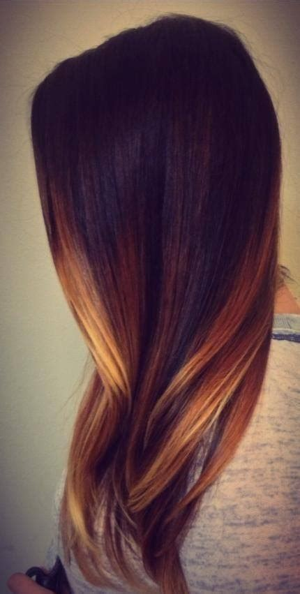 hair color trends  women fall
