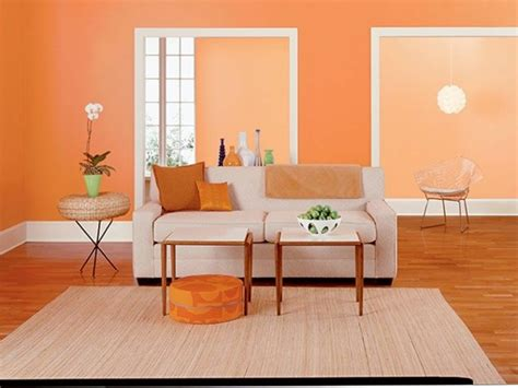 Paint Ideas For Orange Wall Design