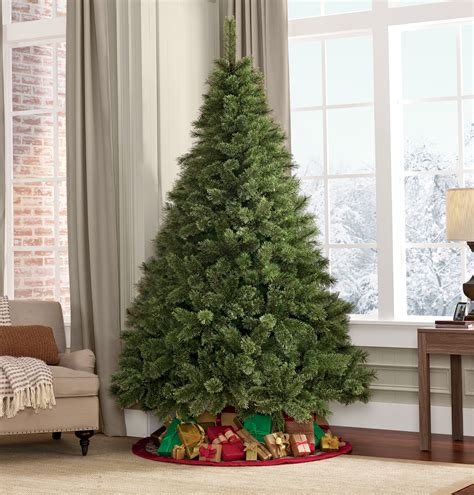 searscom white christmas tree 7 5 unlit westchester deluxe pine tree sears