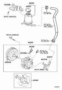 2005 Toyota Rav4 Union  Power Steering Suction Port