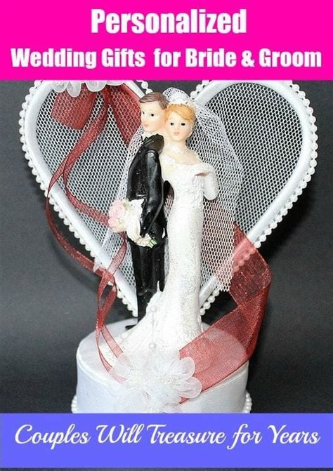 unique personalized wedding gifts   bride  groom