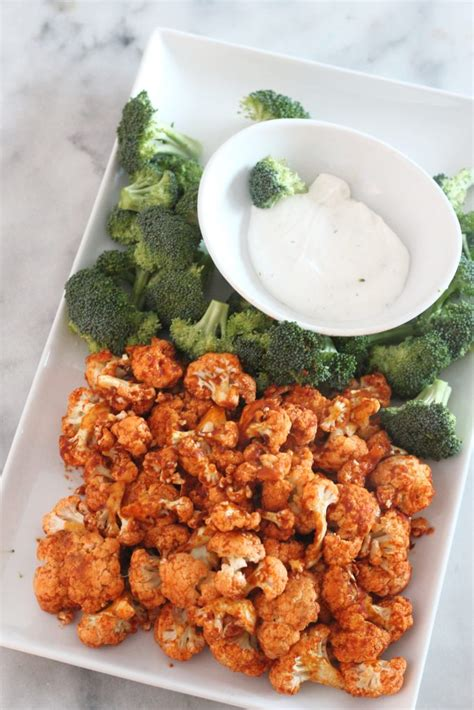 fryer keto air recipes cauliflower fried buffalo carb low delish bites easy friendly lowcarbdelish healthy cooked beginners juelzjohn food cooking