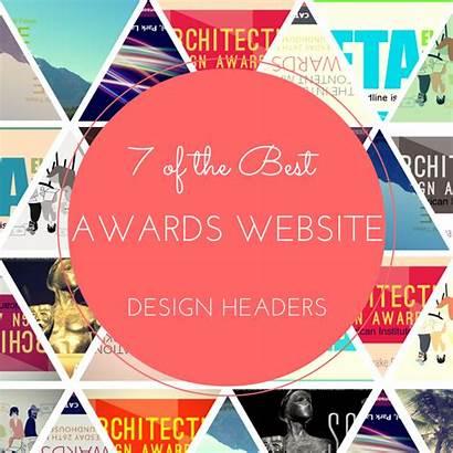 Header Website Designs Awards