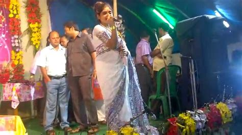 jhiliksreetoma bhattacharya visit  monshadanga sangramisang   puja youtube