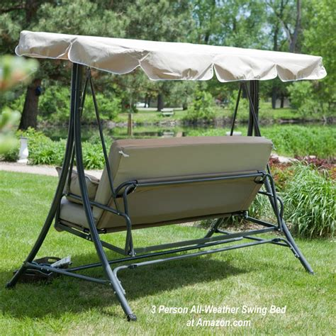 metal canopy metal porch swing options for outdoor living