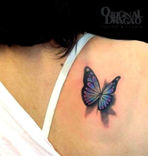 Butterfly Tattoo Want The Back