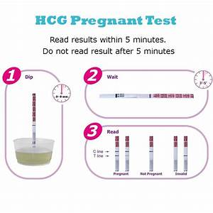 Ovulation And Pregnancy Test Strip  12 Lh   3 Hcg