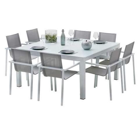 cdiscount table et chaise ensemble table et chaises de jardin extensibles carre