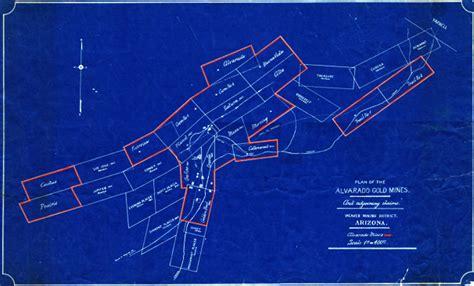 Map 22 -- Alvarado Gold Mines, Arizona