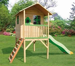 Maisonnette En Bois Sur Pilotis : trigano jardin quipement de jardin jeux de plein air ~ Dailycaller-alerts.com Idées de Décoration