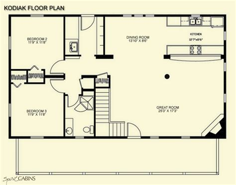 cabin floorplan floor plans log cabins