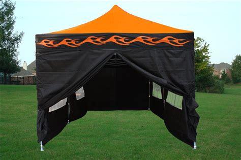 pop up tent canopy 10 x 20 orange pop up tent canopy gazebo