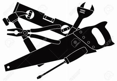 Tools Construction Hammer Carpentry Clipart Vector Level