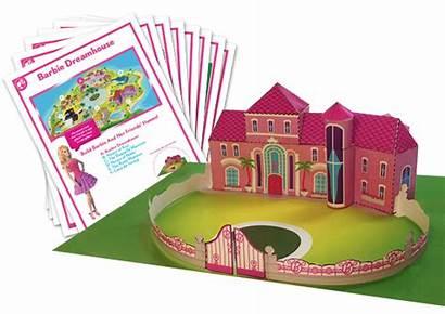 Barbie Dreamhouse Dream Printable Printables Paper Printablee