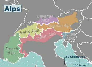 Rhythm And Alps Travel Map Directions And Location Alps Travel Guide At Wikivoyage