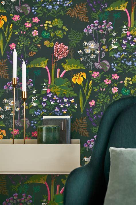 botanical wallpaper ideas  pinterest