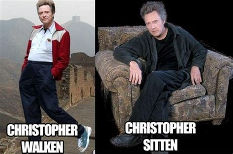 Christopher Walken Meme - 24 celebrity puns that will crack you up photos