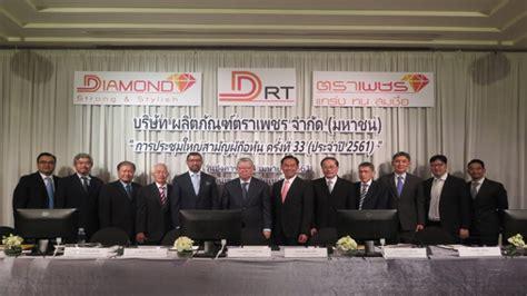 ผู้ถือหุ้น DRT ไฟเขียวแผนลดทุนพร้อมอนุมัติปันผล