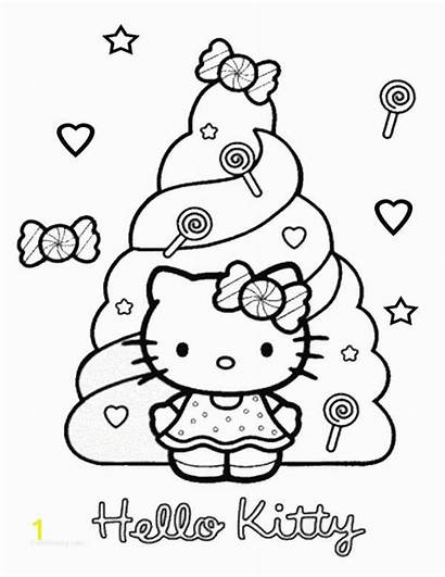 Kitty Hello Coloring Thanksgiving Gambar Mewarna Candy