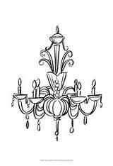 Chandelier Draw Graphic Ii Clipart Drawing Iv Allposters Ethan Enregistree Depuis Webstockreview Esquisse Dessin sketch template