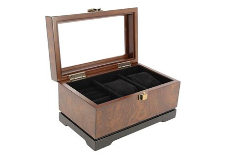 Bombay Executive Cufflink Case & Watch Storage Organizer Men's Jewelry Box New Ruby Jewelry Botw Peridot Cape Town Enchanted Runescape Sapphire Emerald Prices James Avery Jtv Website How To Clean At Home