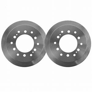 Pair  2  12 28 U0026quot   312mm  Premium Rear Brake Rotors
