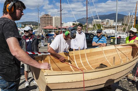 Boat Building Tasmania by Classic Wooden Boat Building