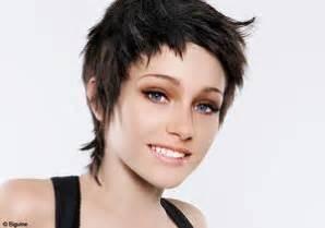 coupe de cheveux simulateur coiffures courtes originales