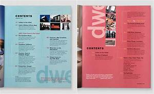 Magazine Contents Page Design