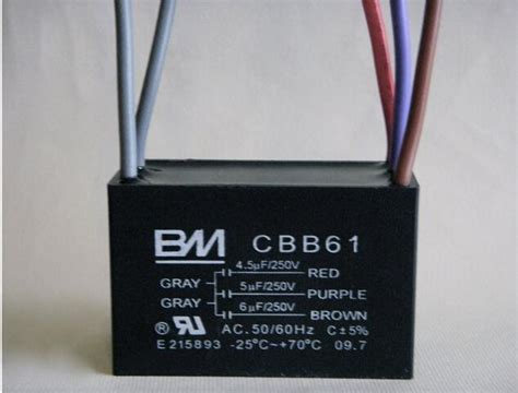 ceiling fan capacitor  wire   bm   tool