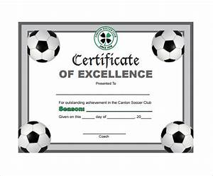 Soccer certificate template 14 download free documents for Soccer certificate templates for word