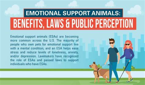emotional support animals benefits laws perceptions