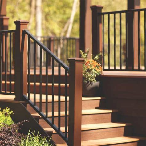 deck railings ideas  pinterest outdoor stairs