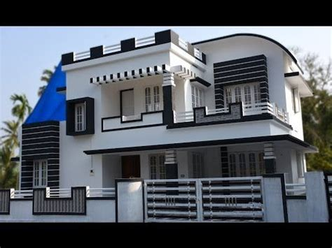 Athani, 5 cents plot and 1700 sq ft, contemporary house