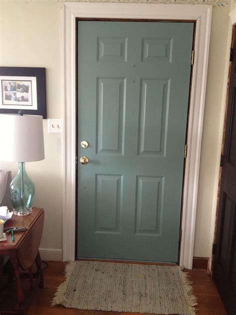 diy painted door wife  progress