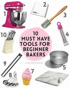 Our 10 Essential Baking Tools for Beginner Bakers!
