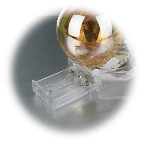 Fenster Mit Batterie Und Timer by Led Glaskugel 216 11cm Orange Batterie Timer