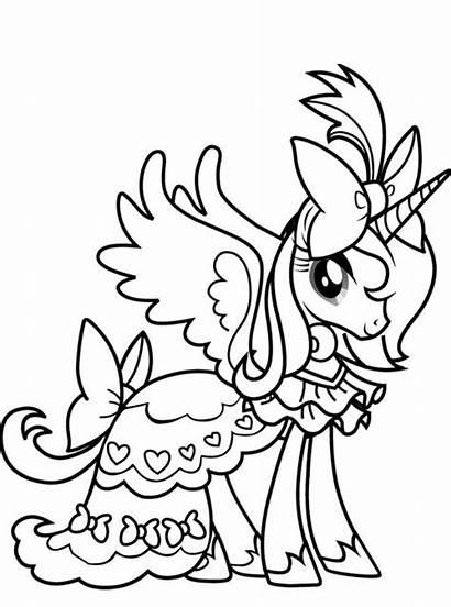 Pony Celestia Prinses Fun Kleurplaat