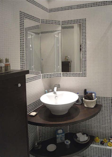 meuble de salle de bain d angle avec vasque salle de