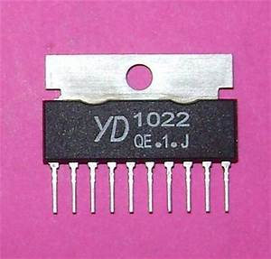 New Yd1022 Cobra Audio Output Ic Chip For Newest Radios