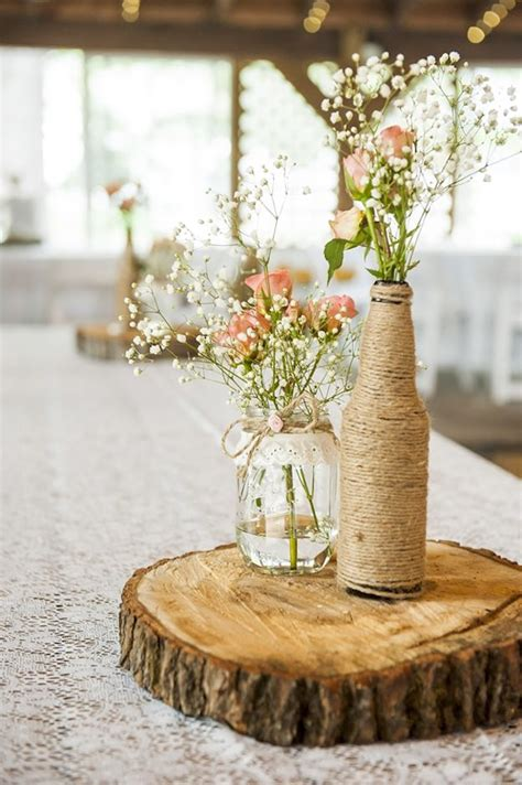 13 Rustic Mason Jar Centerpieces To Try Diy Projects