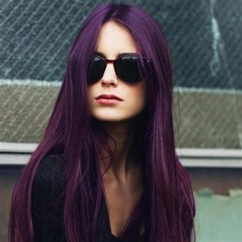 Hair Color On Black Hair by 50 Beautiful Plum Hair Color Ideas Hair Motive Hair Motive
