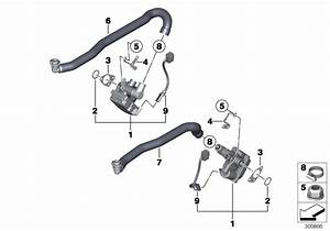 Bmw M5 Idle Control Device  Actuator  Fuel  System  Injection  Cable
