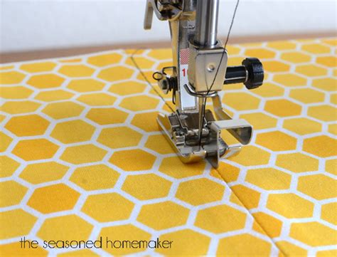 how to stitch in the ditch sewing machine feet the edge stitch foot the seasoned homemaker