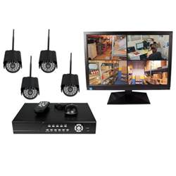 Wireless Security Camera Complete Systems