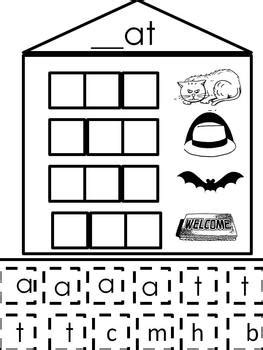 short  word families word building activity